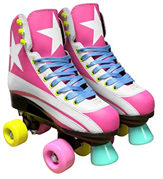 Stamp JQ200034 Patines Quad Roller, Girls, Rose, 34: Amazon.es: Deportes y aire libre