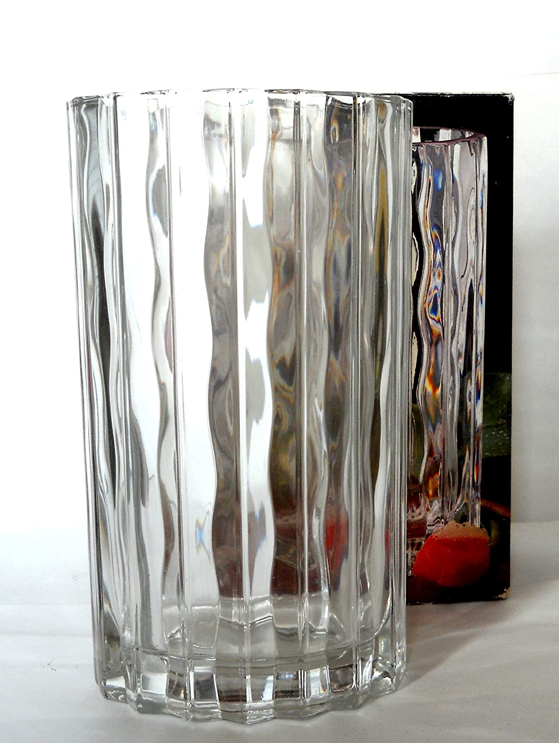 Amazon studio nova seca 85 vase clear waves made in japan amazon studio nova seca 85 vase clear waves made in japan home kitchen reviewsmspy