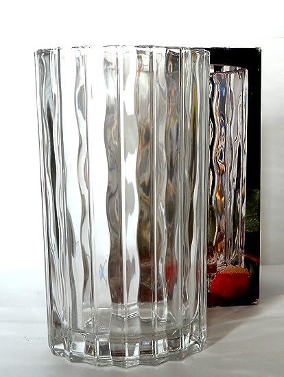 Amazon Studio Nova Seca 85 Vase Clear Waves Made In Japan