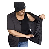The Recovery Shirt Mastectomy Shirt with Hidden Drain Pockets Chemo Port Access