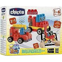 Chicco Eğitici Bloklar Araçlar Çok Renkli, 20 Parça