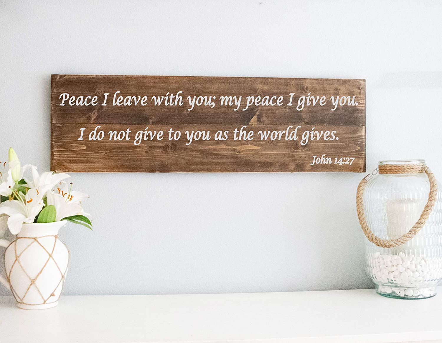 Personalized Bible Verse Wood Sign, Custom Wall Decor, Christian Wood Sign – Bible Verse Wall Hangings Wooden Art