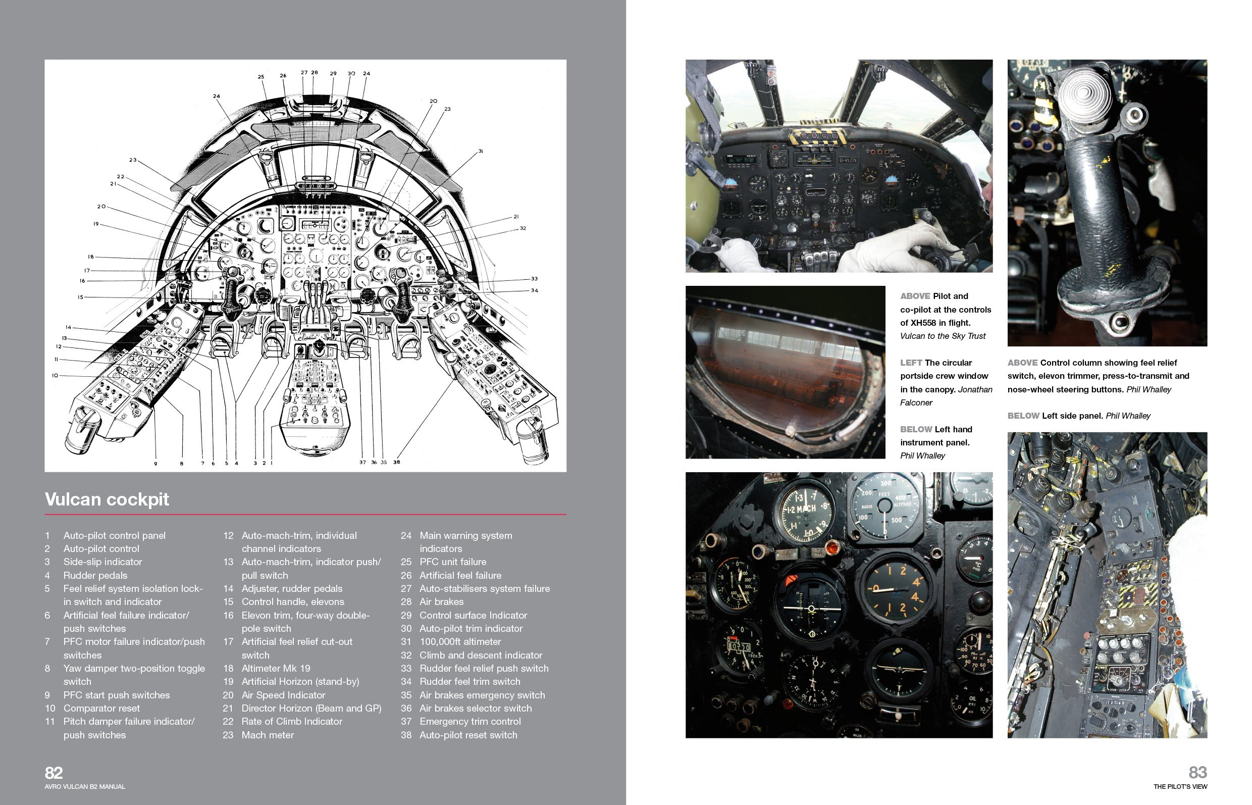 Avro Vulcan Manual 1952 Onwards (B2 model): An insight into owning,  restoring, servicing and flying Britain's legacy Cold War bomber (Owners'  Workshop ...