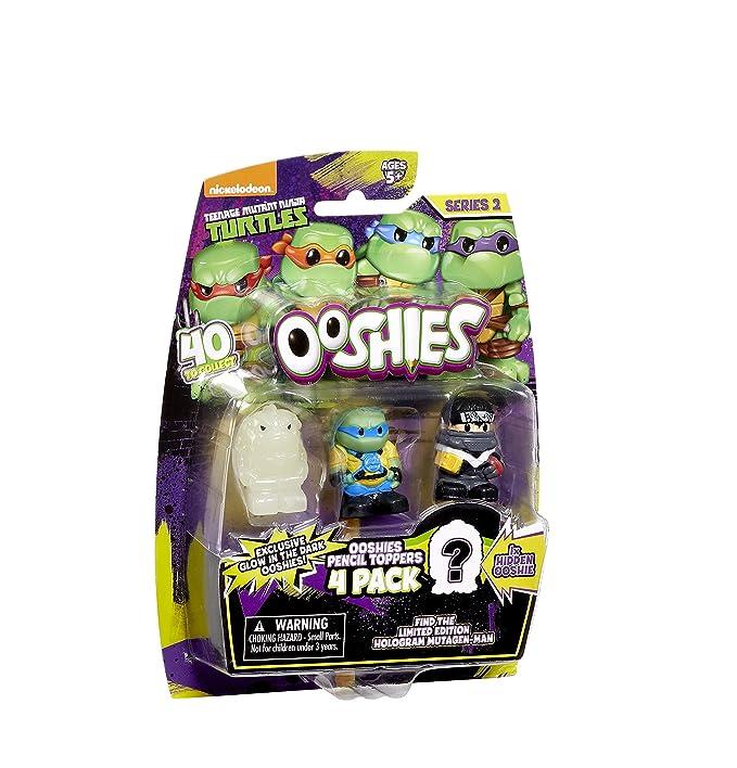 Ooshies - Tortugas Ninja Muntantes Teenage Series 2 (Paquete ...