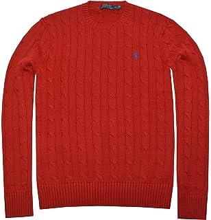 Polo Ralph Lauren Hombres de Pony Cable Knit Jersey de Cuello ...