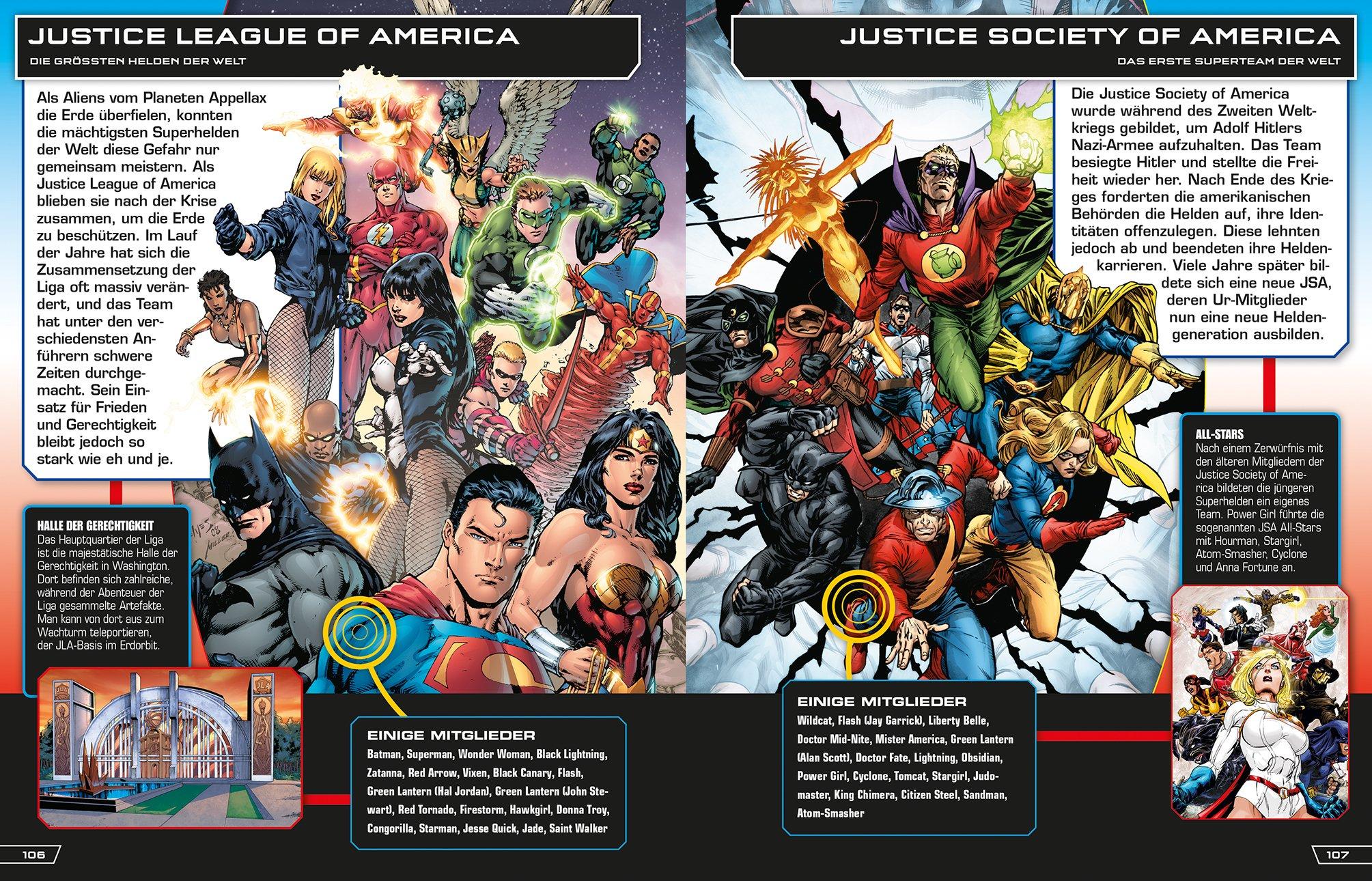 Dc Comics Das Große Superhelden Lexikon über 200 Helden Und