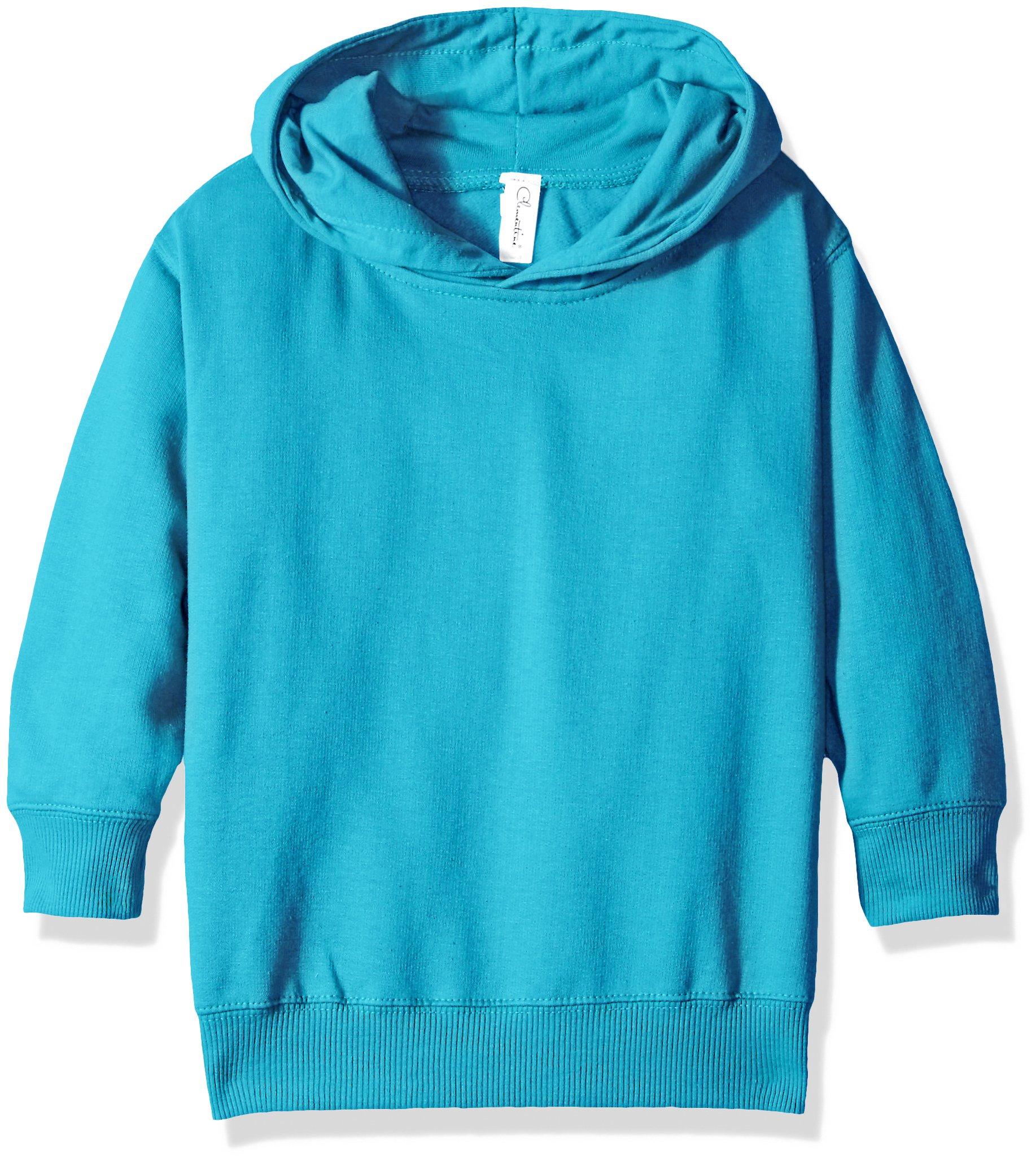Apparel Toddlers Full-Zip Fleece Hooded Sweatshirt Clementine Girls Little 2-7