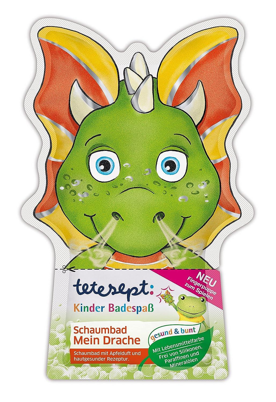Tetesept Bagno divertimento dei bambini Bagnoschiuma il mio drago, 15er Pack (15X 40ML) 20754