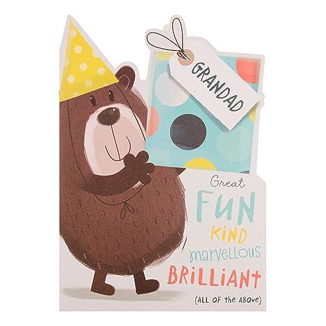 Hallmark, biglietto di compleanno per il nonno con scritta