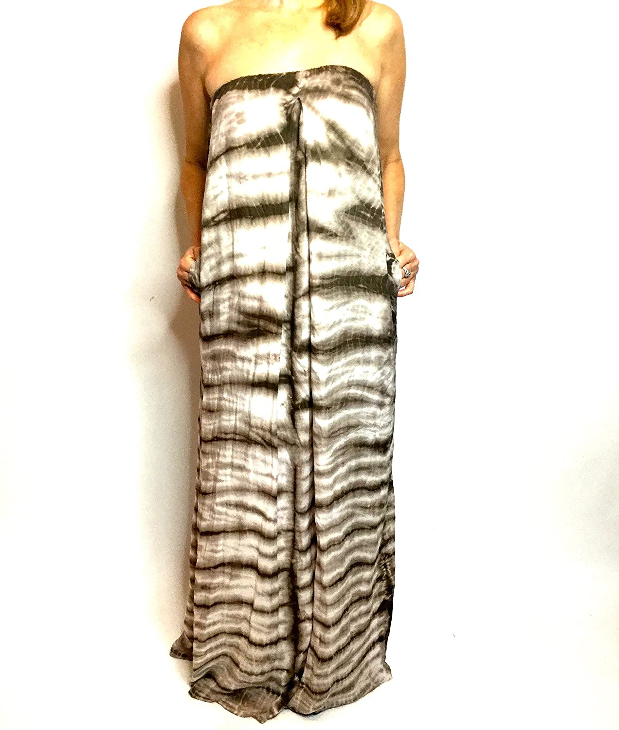 Young Fabulous & Broke Women's Karissa Strapless Ombre Maxi Dress