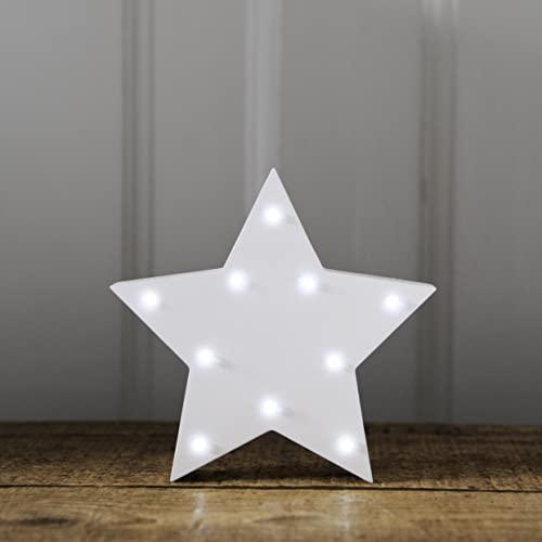 Up In Lights Light Up White Star