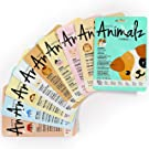 Masque Bar – 9 Piece Pretty Animalz Printed Sheet Masks