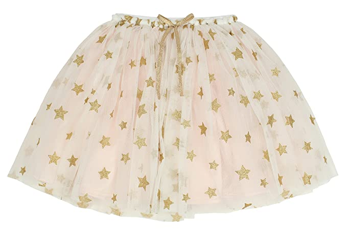 cc04b7d35d Amazon.com  Popatu Little Girls Rose Gold Star Tutu Skirt  Clothing