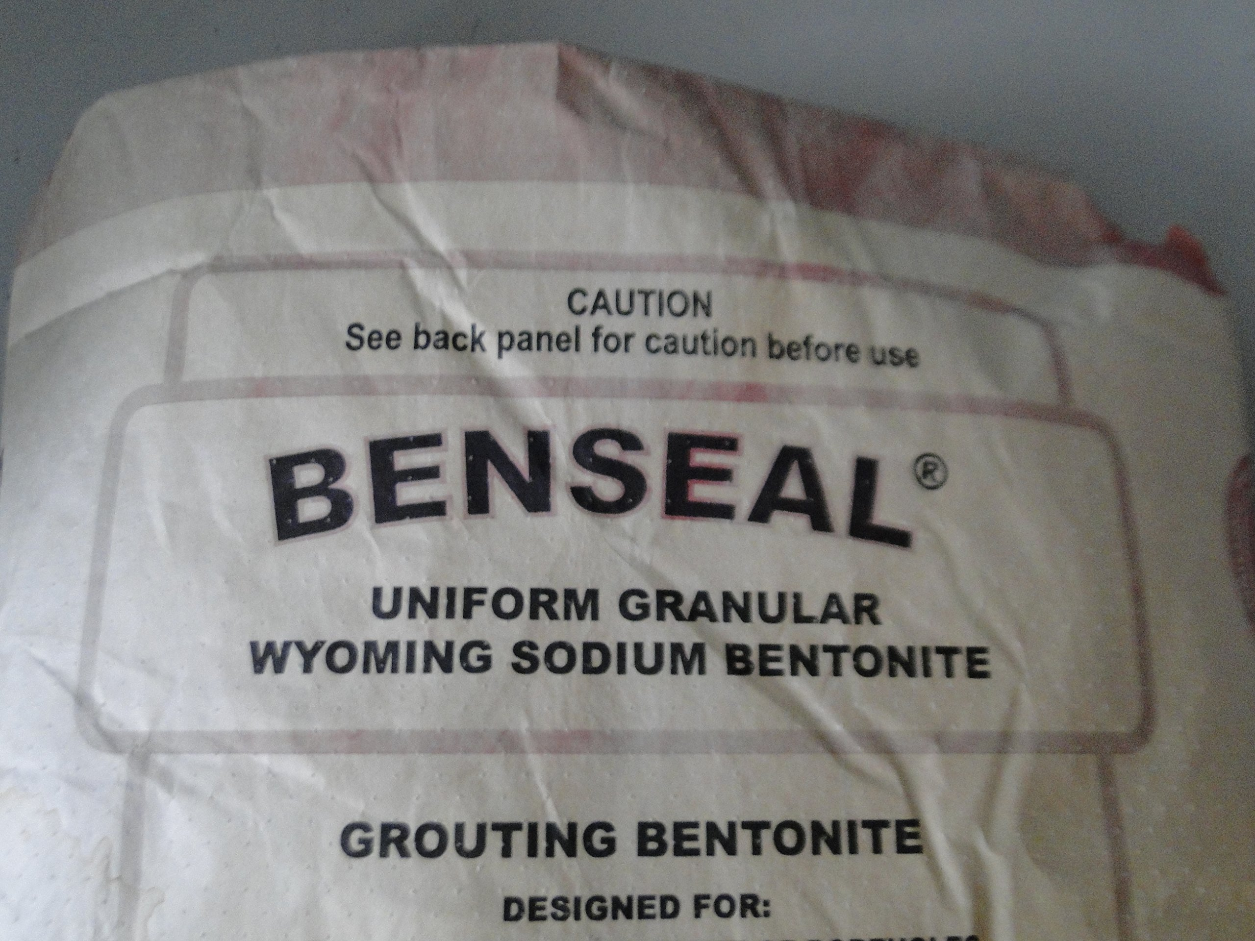 25 Pound Benseal Bentonite Drilling Mud Water Well Pond Foundation Seal Waterproof Baroid Grouting Wyoming Sodium Bentonite by baroid