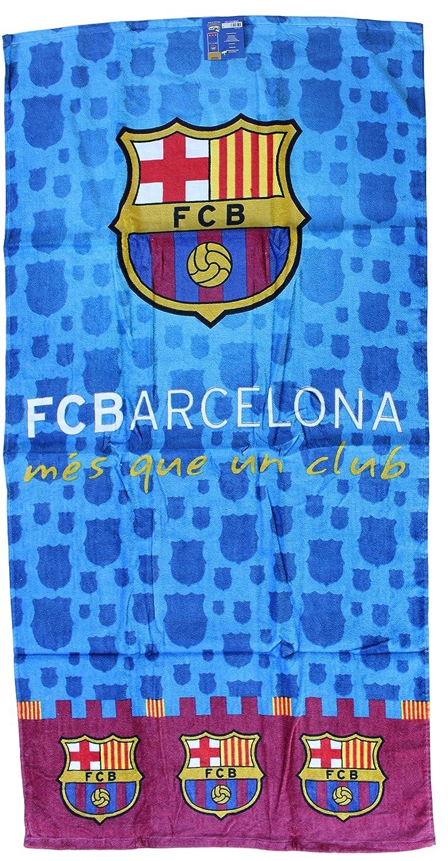 Toalla de playa toalla de playa microfibra FC Barcelona Messi Neymar Suárez: Amazon.es: Hogar