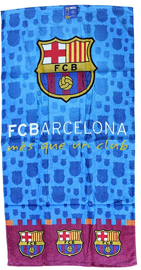 Toalla de playa toalla de playa microfibra FC Barcelona Messi Neymar Suárez