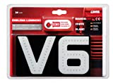 24V Led-lighted emblem - V6 Latest white light