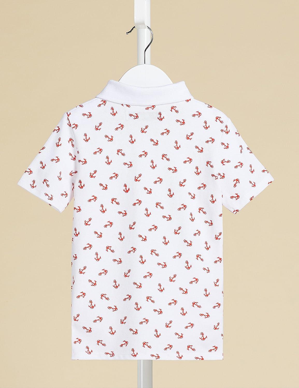 RED WAGON Jungen Poloshirt mit Ananas-Muster Marke