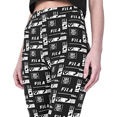acf2c178c2c8 Fila Women's Rey Print Leggings at Amazon Women's Clothing store: