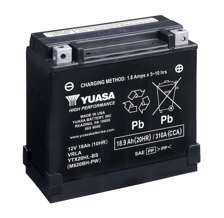 Yuasa YUAM620BH-P YTX20HL-BS-PW Battery 920-106