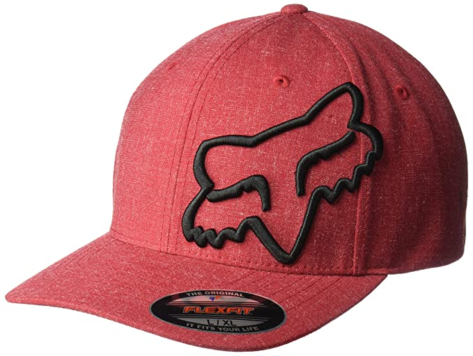 Fox Gorras Clouded Red/Black Flexfit: Amazon.es: Ropa y accesorios