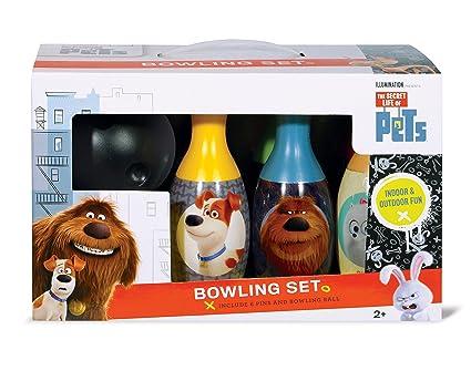 Amazon Com What Kids Want Secret Life Of Pets Bowling Set Toy Toys