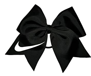 Cheer Bows Black Glow In The Dark Nike Hair Bow