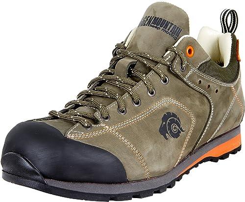 GUGGEN Mountain Herren Trekkingschuhe Wanderschuhe Wanderhalbschuhe wasserdicht Outdoor Schuhe Walkingschuhe HPT53