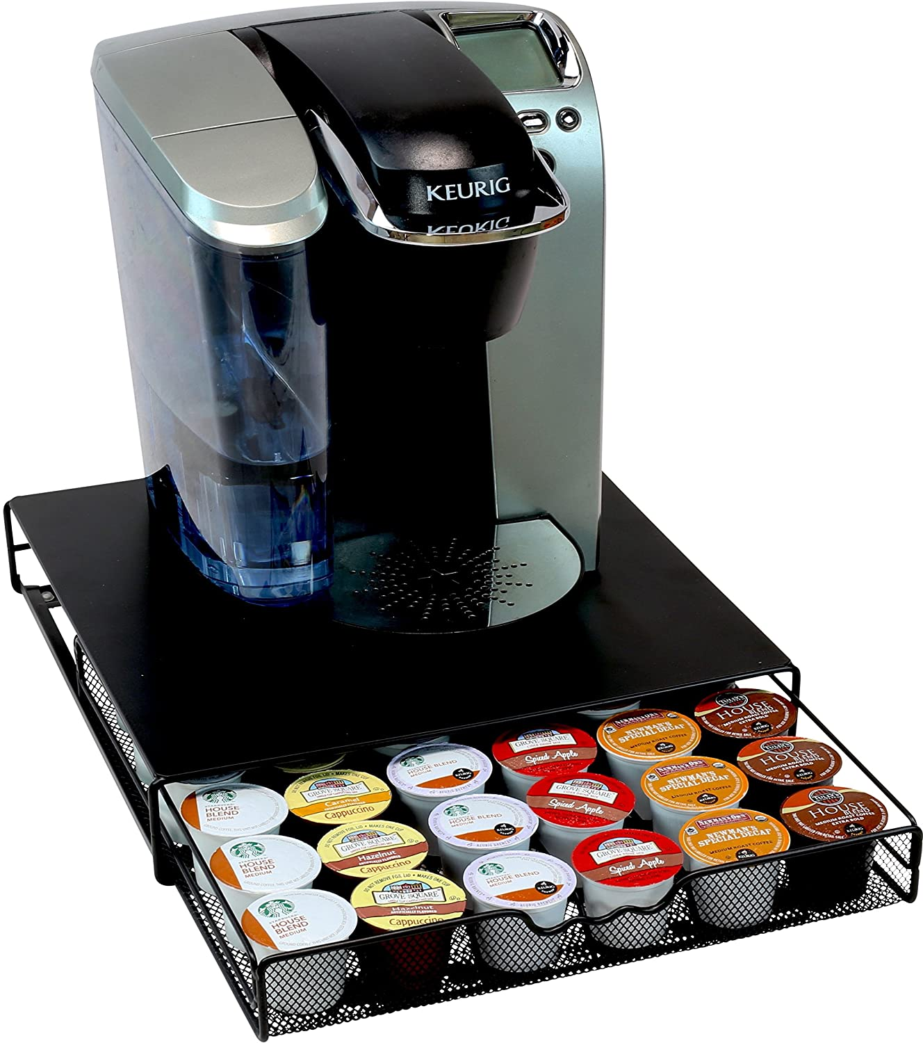 Superbe Amazon.com: DecoBros K Cup Storage Drawer Holder For Keurig K Cup Coffee  Pods: Kitchen U0026 Dining