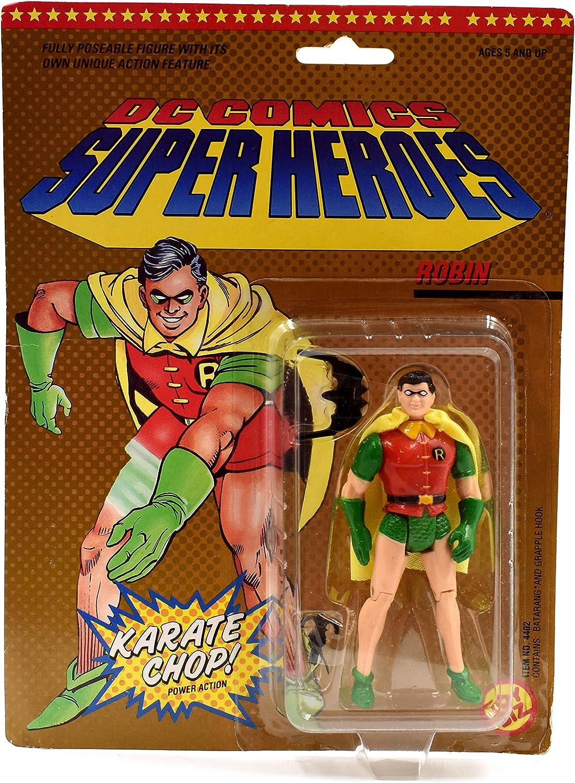 DC Comics Super Heroes Karate Chop Robin Action Figure Toy Biz