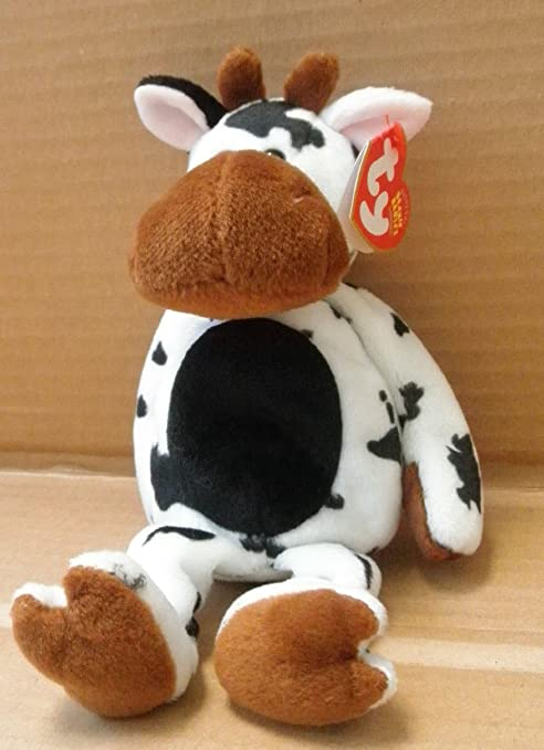 Image Unavailable. Image not available for. Color  TY Beanie Babies Tipsy  the Dairy Cow ... 5e95a74926fc