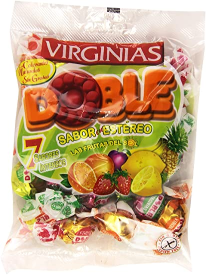 Bolsa de caramelos Virginias - Surtido Doble (130 g)