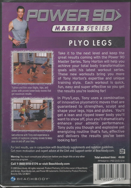 Amazon com: Power 90 Plyo Legs Master Series DVD!: Tony