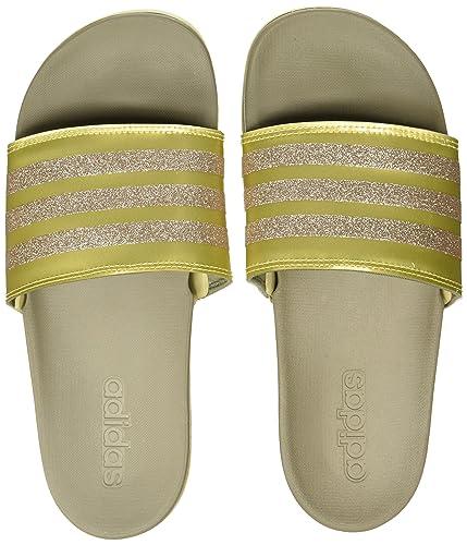 Adidas Women s Adilette Comfort Flip-Flops  Buy Online at Low Prices ... 2fbc2400e1