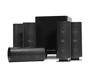 Harman/Kardon HKTS 30 5.1channels 800W Negro conjunto de altavoces - Set de altavoces
