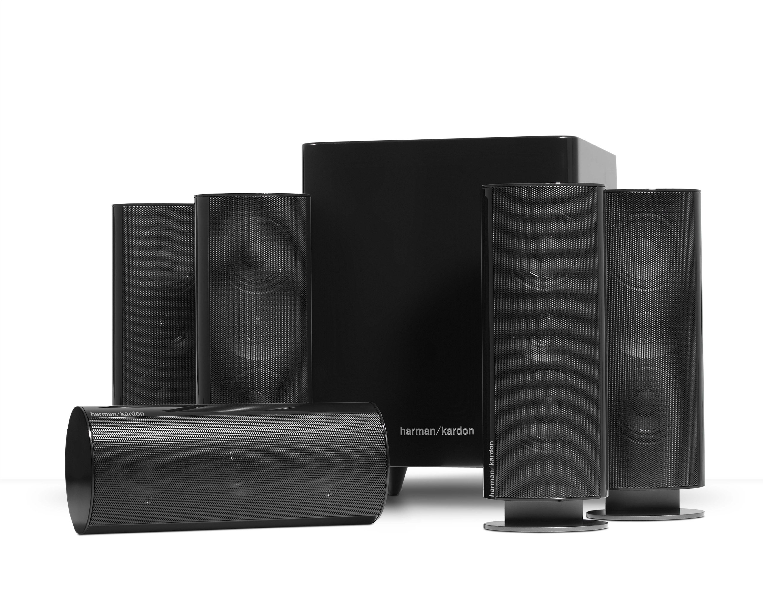 Harman Kardon HKTS 30BQ 5.1 Home Theater Speaker System (Black) by Harman Kardon