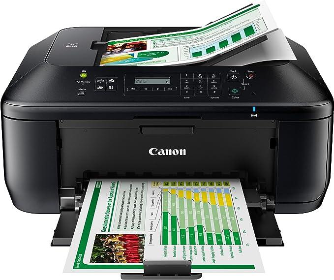 Impresora Multifuncional Canon PIXMA MX475 Negra Wifi de inyección ...