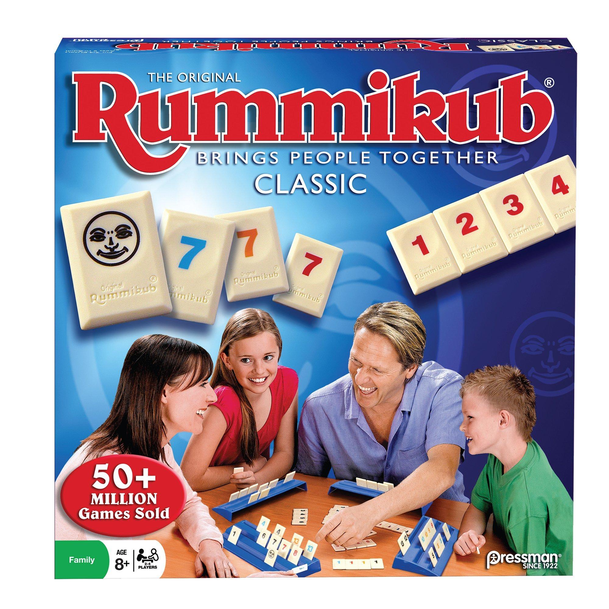 Rummikub -- The Original Rummy Tile Game by Pressman