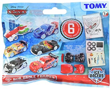 Tomy T8897eu1 Pocket Money Disney Cars Ice Racers Figuren Zum Basteln Thekendisplay