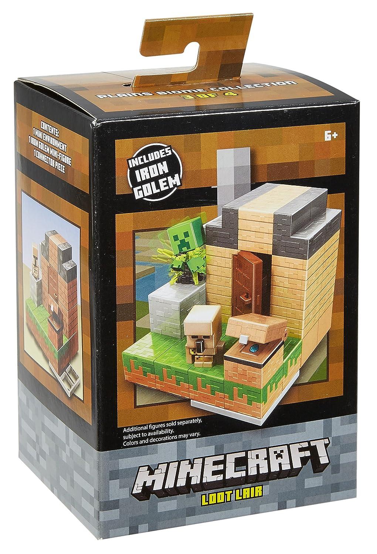Minecraft Loot Lair Environment Playset Mattel DWV80
