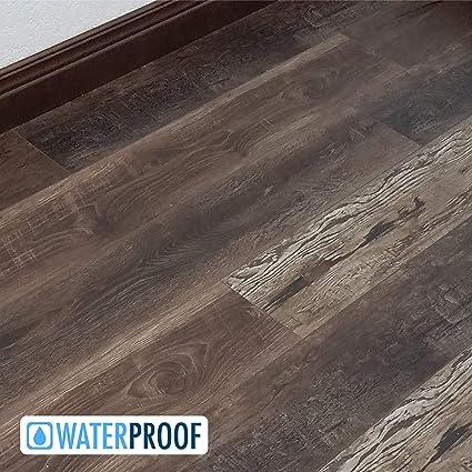 Turtle Bay Floors Waterproof Click Wpc Flooring Rich Reclaimed Barnwood Look Floating Floor Choose From 2 Colors Grades Sample Bozeman