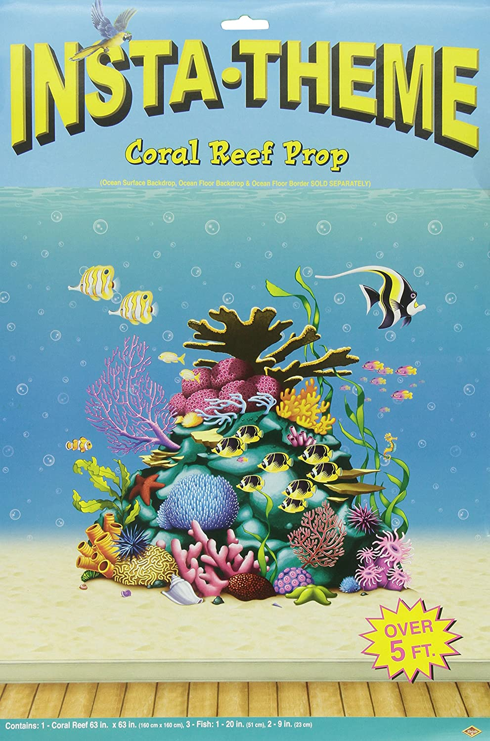 amazon com coral reef prop 3 fish included party accessory 2