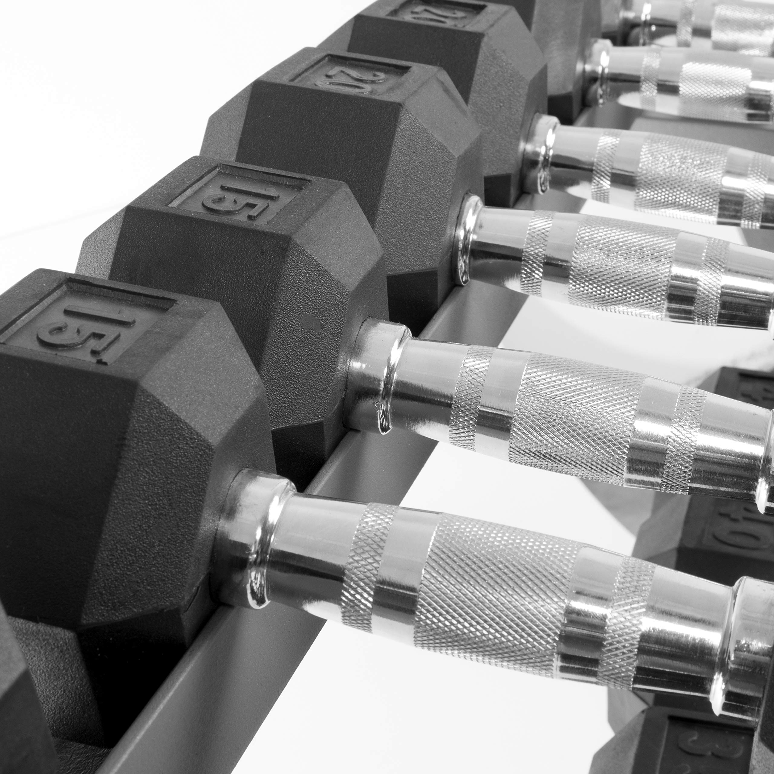 XMark All-in-One Dumbbell Rack, Plate Weight Storage and Dual Vertical Bar Holder, Design Patent Pending by XMark (Image #5)