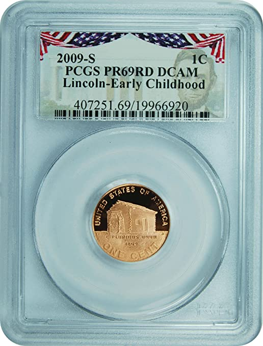 2004-S LINCOLN PROOF CENT 1c PCGS PR69RD DEEP CAMEO