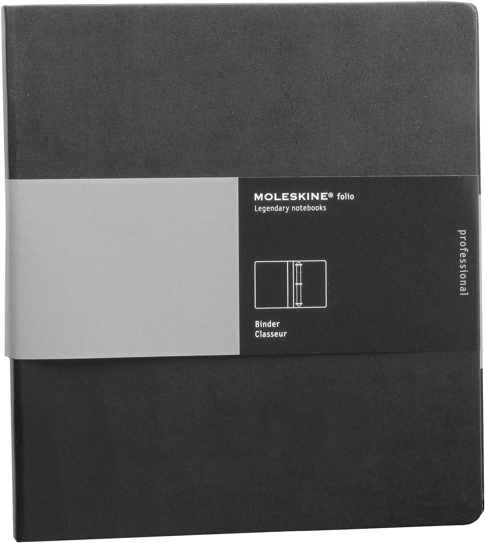 8862934955 Moleskine Folio Professional 3-Ring Binder, Black (10.5 x 11.75) 91zrdyr4wtL.SL1500_