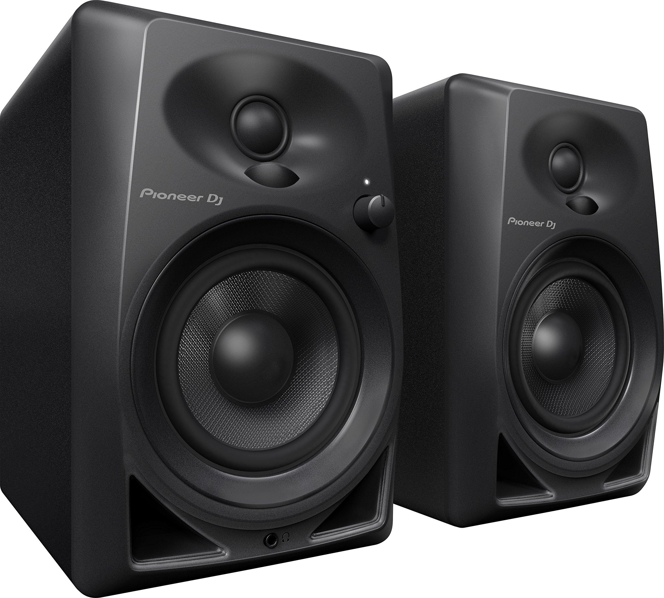pioneer pro dj studio monitor rca mini jack black dm40 fifth degree. Black Bedroom Furniture Sets. Home Design Ideas