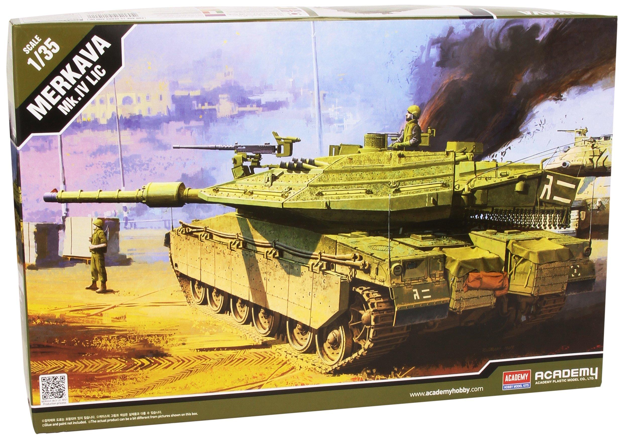Academy 1:35 - IDF MBT Merkava MK IV LIC 01/2011
