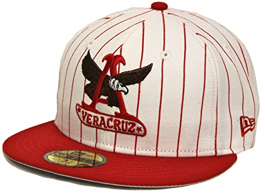 New Era 59Fifty Rojos del Águila de Veracruz White Red Fitted Cap (7 3/