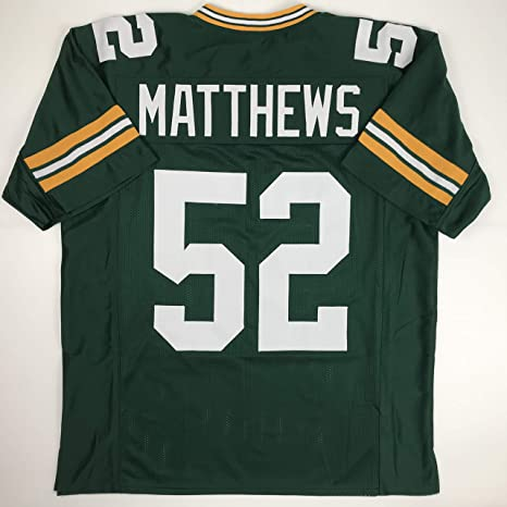 b44aaa468 Unsigned Clay Matthews Green Bay Green Custom Stitched Football Jersey Size  Men s XL New No Brands