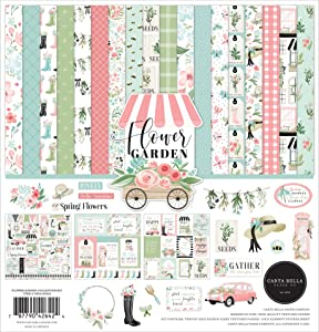Carta Bella Paper Company Flower Garden Collection Kit Paper